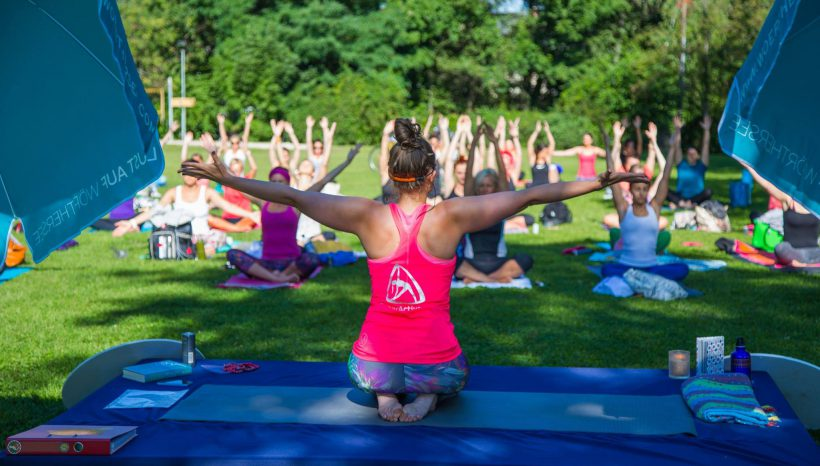 Sunny Sunday Yoga & Picknick :)