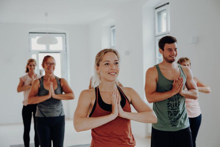 Yoga für den guten Zweck
