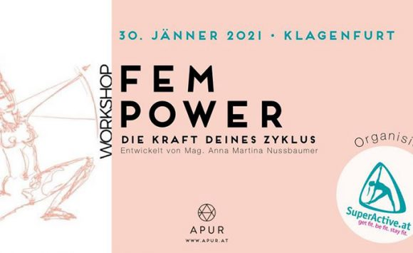 Feminin Power Workshop am 30. Jänner 2021