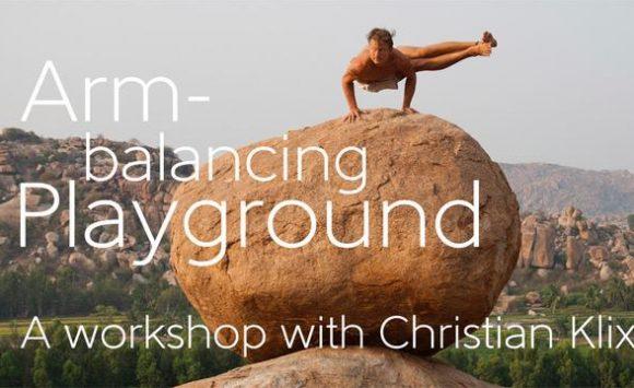 Armbalancing Playground mit Christian Klix am 17. März 2019