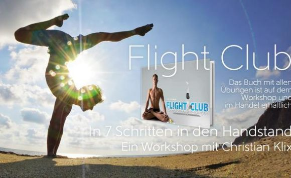 Flight Club mit Christian Klix – In 7 Schritten zum Handstand am 16. März 2019