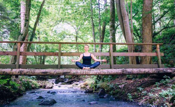 Yoga & Genusswanderung in Krumpendorf am Wörthersee am 22. September 2019