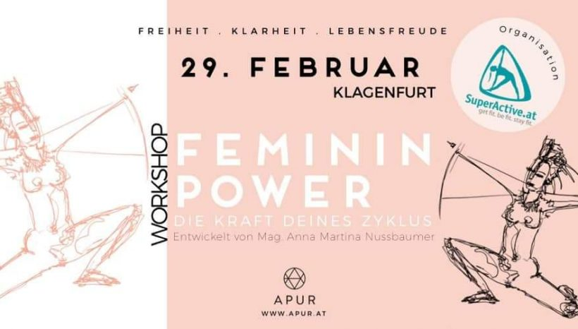 Feminin Power Workshop am 29. Feber 2020