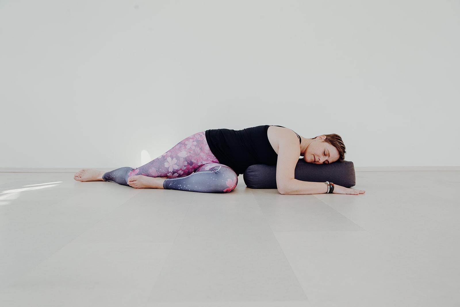 Yoga Trainerin Tatjana Pontasch