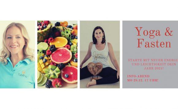 Yoga- & Fasten-Woche ab 3. Jänner 2021 – Infoveranstaltung am 28.12.2020