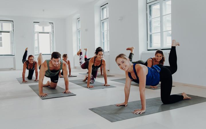 Yoga Flow im SuperActive Studio